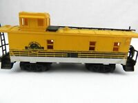 Vintage Train Grande Caboose Car Yellow HO Scale Railway Main Line