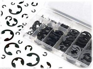 E-Clip Assortment Set 300pcs Eclip Retaining Ring Fastener Kit M1.5~M10