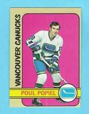 1972-73 Topps 142 Paul Popiel Vancouver Canucks! NM-MT!   *SET BREAK*