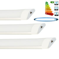 "4x New 36"" 3FT 90cm Linkable LED Tube Light Day White Lamp Surface Mounted 27W"