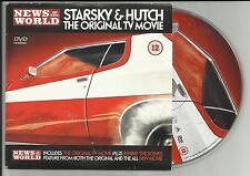 STARSKY & HUTCH: ORIGINAL TV MOVIE  (1975) NEWSPAPER PROMO DVD