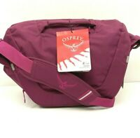 OSPREY Messenger Crossbody Day Bag Flapjill Courier Laptop Travel Bag NEW
