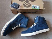 Hummel Stadil Winter Hi Leder Schuhe/Stiefeletten, Dress Blue Größe 43,