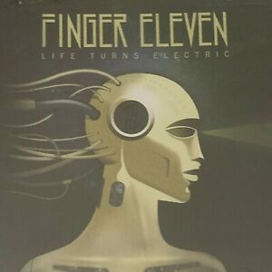 Finger Eleven Life Turns Electric CD Like New