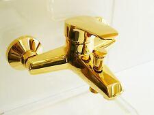 Grifo de bañera ORO (24 Quilate ), Pila de bañera, Grifo monomando, Tessa