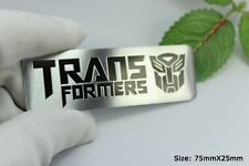 D704 Transformers Autobot Auto 3D Emblem Badge Aufkleber PKW KFZ Car Sticker