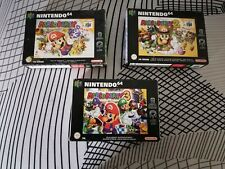 Mario party Nintendo 64 - Lot de 3 jeux