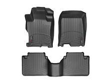 WeatherTech DigitalFit FloorLiner for Honda Accord Sedan - 2008-2012 - Black