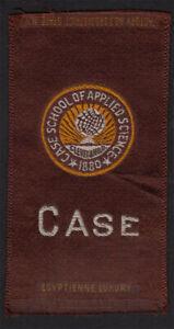 Case College Cleveland VTG American Tobacco Egyptienne Luxury School Silk S25