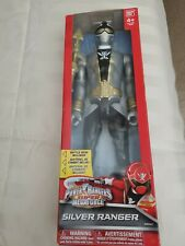 Power Rangers Super Megaforce Silver Ranger 2014 Bandai