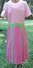 1960s Linen Blend Dress Made By Jay Anderson For Posh Size S/M