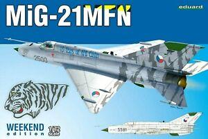 Eduard Weekend Edition 1:72 MiG-21MFN Aircraft Model Kit
