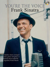 Youre The Voice Frank Sinatra Jazz Swing Piano Guitar FABER Music BOOK & CD