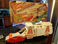 Super Joe Rocket Command Center with Original Box Vintage 1977