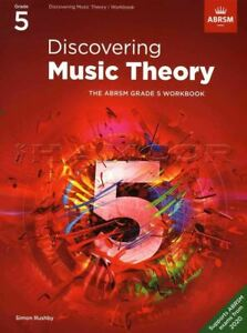 Discovering Music Theory ABRSM Grade 5 Workbook From 2020 SAME DAY DISPATCH