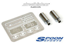 StreetBlisters 1/24 Spoon Sports N1 Muffler. Exhausts made of stainless steel