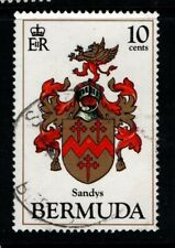 Bermuda 1983 10c Arms SG457 Used