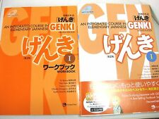 GENKI An Integrated Course in Elementary Japanese 1 Textbook Workbook set F/S JP