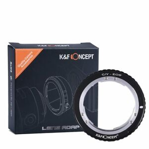 K&F Concept C/Y to EOS lens mount adapter, compatible with Contax/Yashica CY C/Y
