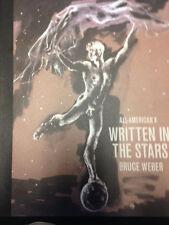 SIGNED BRUCE WEBER ALL-AMERICAN VOLUME Ten WRITTEN IN THE STARS 1st signed card