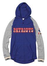 New England Patriots Mitchell & Ness NFL Men's Slugfest Lightweight Hooded Shirt
