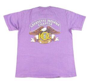 VTG 90s Hanes Beefy T Harley Davidson Harley Owners Group T Shirt Mens L Purple