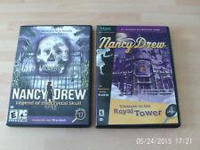 nancy drew legend of the crystal skull & treasure in the royal tower