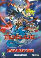 STICKERS IMAGE PREZIOSI VIGNETTE - BEYBLADE OFFICIAL - 2009 - a choisir