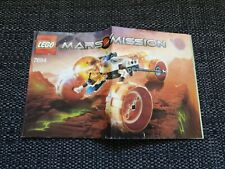 Lego Mars Mission - INSTRUCTIONS ONLY - 7694 - Good condition