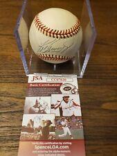 Ken Griffey Jr. Autographed Baseball JSA COA MARINERS REDS. HOF