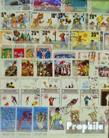 Albanien 100 verschiedene Sondermarken