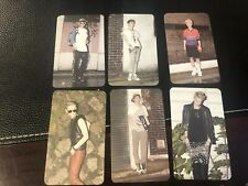 Korean Kpop EXO M Fanmade Photocard Set