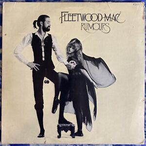 Fleetwood Mac – Rumours 1ST US PRESS Vinyl LP 1977 Textured Sleeve VG+ Condition