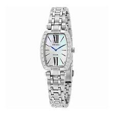 Seiko SUP283 Women's Tressia Stainless Steel Silver Bracelet Dial Watch