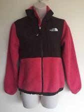 THE NORTH FACE Polartec Ladies Pink Brown Denali Fleece Jacket Size XS Women #2