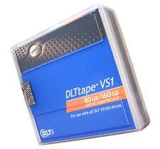 Dell DLTtape VS1 80GB/160GB Single Pack NEW P5639 1/2in Data Tape Media
