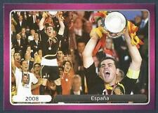 PANINI EURO 2012- #538-CHAMPIONSHIP WINNERS-2008-ESPANA-SPAIN