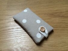 iPhone 6 / 6 Plus Handmade Padded Case - Cath Kidston Stone Spot Fabric