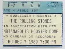 Rolling Stones  1989 Ticket  Indianapolis USA