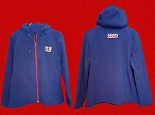 Giants NFL Football Jacket Apparel 2XL XXL Hood Softshell Coat New Woman's