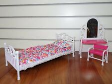 Gloria Barbie Doll House Furniture Play Bed Room Set Kids Fun Play Toy