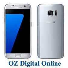 Samsung Galaxy S7 G930fd Dual SIM 32gb LTE Silver Unlocked Smartphone AU