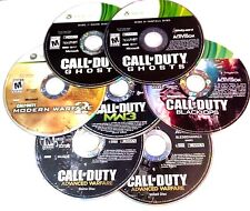 Lot of (5) Call of Duty COD Black Ops Games Microsoft Xbox 360 Disc Only