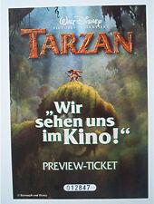 1x Tarzan Preview-Ticket 1999 ERB & Disney von Toysrus & RTL