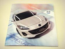 Mazda . 3 . Mazda 3 Tamura . December 2011 Sales Leaflet