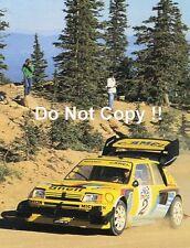 Ari Vatanen Peugeot 205 Turbo T16 Pikes Peak Hillclimb 1987 Photograph 5