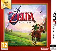 La Leyenda de Zelda: la Ocarina del Tiempo-Nintendo Selects (3DS) Nuevo y Sellado