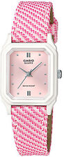 Casio Women's Analog Display Pink Dial Resin Watch Lq142lb-4a2