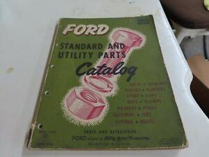 Early Ford V-8 original hardware catalog No Reserve
