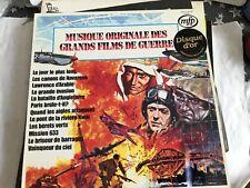33 tours musique originale des grands films de guerre Disque d'or